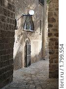 Улочка старого Яффо, Израиль (2009 год). Стоковое фото, фотограф Владимир Блинов / Фотобанк Лори