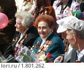 Ветераны войны. Парад 9 мая (2010 год). Редакционное фото, фотограф Татьяна Уваровская / Фотобанк Лори