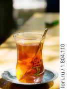 Купить «Турецкий чай», фото № 1804110, снято 2 мая 2010 г. (c) Ирина Крамарская / Фотобанк Лори