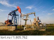 Нефтяная вышка. Стоковое фото, фотограф Сергей Матвеев / Фотобанк Лори