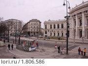 Городской театр в Вене (2010 год). Редакционное фото, фотограф Яна Векуа / Фотобанк Лори