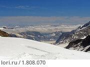 Купить «В швейцарских Альпах.  У вершины», фото № 1808070, снято 22 июня 2010 г. (c) Сергей Лебедев / Фотобанк Лори