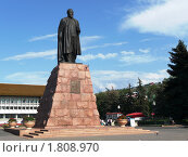 Купить «Памятник Абаю Кунанбаеву - основоположеннику казахской литературы. Алма-Ата», фото № 1808970, снято 26 августа 2009 г. (c) Виктор Никитин / Фотобанк Лори