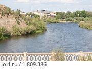 Город Улан-Удэ. Берега реки Уды (2010 год). Стоковое фото, фотограф Анна Зеленская / Фотобанк Лори
