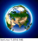 Купить «Голубая планета», иллюстрация № 1814146 (c) Антон Балаж / Фотобанк Лори