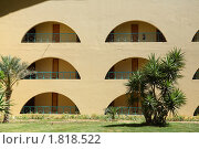 Двери в номера, отель, Египет, лето. Стоковое фото, фотограф Бельская (Ненько) Анастасия / Фотобанк Лори
