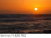 Морской закат. Стоковое фото, фотограф Дмитрий Рухленко / Фотобанк Лори