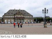 Площадь Дрезден Германия (2008 год). Редакционное фото, фотограф Любовь Сафонова / Фотобанк Лори