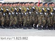 Купить «Репетиция парада. Армия Киргизии», фото № 1823882, снято 6 мая 2010 г. (c) Игорь Долгов / Фотобанк Лори