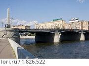 Москва, Бородинский мост (2010 год). Редакционное фото, фотограф ИВА Афонская / Фотобанк Лори