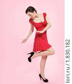 Купить «Девушка ретро», фото № 1830182, снято 9 марта 2010 г. (c) Serg Zastavkin / Фотобанк Лори