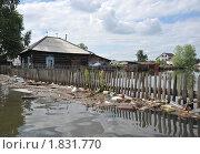 Купить «Наводнение», фото № 1831770, снято 26 июня 2010 г. (c) Free Wind / Фотобанк Лори