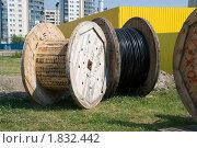 Купить «Кабельные катушки», эксклюзивное фото № 1832442, снято 11 июля 2010 г. (c) Александр Щепин / Фотобанк Лори