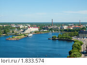 Купить «Выборгский залив в солнечный летний день», фото № 1833574, снято 10 июля 2010 г. (c) Александр Перченок / Фотобанк Лори