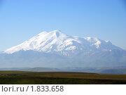 Купить «Вид на Эльбрус с перевала Кум-Баши», фото № 1833658, снято 11 июля 2010 г. (c) Анна Мартынова / Фотобанк Лори