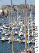 Купить «Стоянка яхт. Мальта», фото № 1833994, снято 21 ноября 2007 г. (c) Николай Богоявленский / Фотобанк Лори