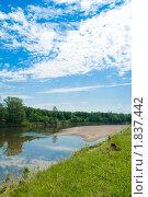 Пейзаж реки. Стоковое фото, фотограф Николай Бирюков / Фотобанк Лори