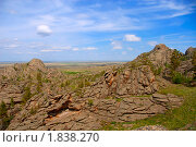 Купить «Горы вулканического происхождения», фото № 1838270, снято 29 мая 2010 г. (c) Юлия Врублевская / Фотобанк Лори