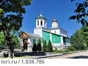 Купить «Церковь Святого пророка божия Илии с Луга (Илии Мокрого)», фото № 1838786, снято 4 июля 2010 г. (c) Виктор Карасев / Фотобанк Лори