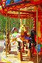 Омск. Карусели в парке культуры и отдыха имени 30-летия ВЛКСМ, фото № 1838990, снято 12 июля 2010 г. (c) Julia Nelson / Фотобанк Лори