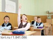 Купить «Дети на уроке», фото № 1841086, снято 19 марта 2010 г. (c) Гладских Татьяна / Фотобанк Лори