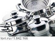 Купить «Набор кухонной посуды», фото № 1842166, снято 14 октября 2009 г. (c) Антон Балаж / Фотобанк Лори