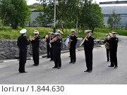 Купить «Российский военный оркестр», эксклюзивное фото № 1844630, снято 14 июля 2010 г. (c) Иван Мацкевич / Фотобанк Лори
