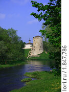 Крепость в Пскове (2007 год). Стоковое фото, фотограф Татьяна Рыбина / Фотобанк Лори