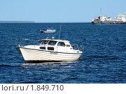 Судна на Онежском озере (2010 год). Редакционное фото, фотограф Максим Сидоров / Фотобанк Лори