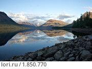 Озеро Лама. Стоковое фото, фотограф Сергей Зоммер / Фотобанк Лори