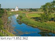 Купить «Суздаль, Ильинская церковь, летний пейзаж», фото № 1852362, снято 14 июля 2010 г. (c) Ирина Завьялова / Фотобанк Лори