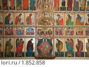 Иконостас в Соловецком монастыре (2008 год). Редакционное фото, фотограф Parmenov Pavel / Фотобанк Лори