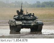 Танк Т-90 (2010 год). Редакционное фото, фотограф Владимир Журавлев / Фотобанк Лори