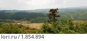 Панорама Мангуп-кале. Крым (2009 год). Стоковое фото, фотограф Наталья Гребенюк / Фотобанк Лори
