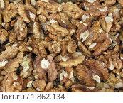 Грецкий орех очищенный крупный план. Стоковое фото, фотограф Светлана Бородатая / Фотобанк Лори