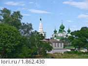 Купить «Воскресенский войсковой собор в Старочеркасске», фото № 1862430, снято 19 июня 2010 г. (c) Борис Панасюк / Фотобанк Лори