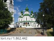 Воскресенский собор и Майдан в Старочеркасске (2010 год). Стоковое фото, фотограф Борис Панасюк / Фотобанк Лори