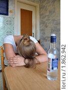Купить «Перебрала...», фото № 1862942, снято 25 июля 2010 г. (c) Константин Бредников / Фотобанк Лори