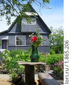 Купить «Дачный домик», эксклюзивное фото № 1865206, снято 10 июня 2010 г. (c) lana1501 / Фотобанк Лори