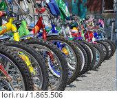 Велосипеды (2006 год). Редакционное фото, фотограф Гузынин Тимофей / Фотобанк Лори