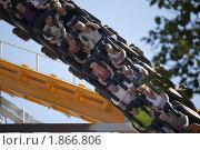 Американские горки (2010 год). Редакционное фото, фотограф Накип Садыков / Фотобанк Лори