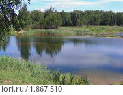 Купить «Летний пейзаж», эксклюзивное фото № 1867510, снято 10 июня 2010 г. (c) lana1501 / Фотобанк Лори