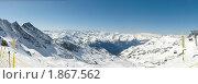 Панорама гор. Стоковое фото, фотограф Семин Илья / Фотобанк Лори
