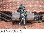 Купить «Калининград, скульптура в рыбной деревне», фото № 1868578, снято 12 августа 2009 г. (c) Алина / Фотобанк Лори