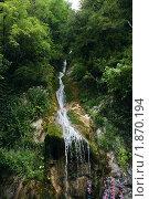 """Водопад """"Мужские слезы"""", Абхазия, парк Рица (2009 год). Стоковое фото, фотограф Клыков Станислав / Фотобанк Лори"""