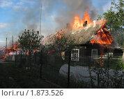 Пожар в деревне. Стоковое фото, фотограф Татьяна Нафикова / Фотобанк Лори