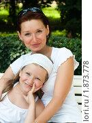 Дочка с мамой. Стоковое фото, фотограф Калинина Алиса / Фотобанк Лори