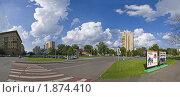 Перекрёсток на Новоспасском проезде (2010 год). Редакционное фото, фотограф Андрей Комаров / Фотобанк Лори