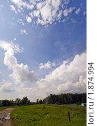 Летний день за городом. Стоковое фото, фотограф Андрей Комаров / Фотобанк Лори
