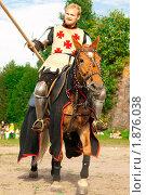 Купить «Выборгский рыцарский турнир», фото № 1876038, снято 31 июля 2010 г. (c) Алексей Ширманов / Фотобанк Лори